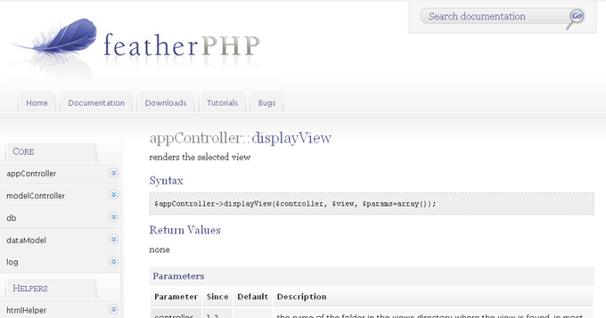 featherPHP